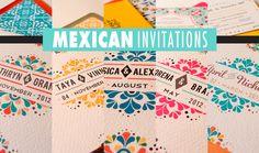 vintage inspired mexican wedding | wedding invitations free samples floral wedding invitations
