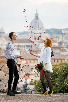 Elopement Wedding Photos in Rome. A Beautiful and Scenic Walk around the Most Typical Roman streets and alleyway while taking memorable Couple Pictures Poses, Elope Wedding, Couple Posing, Rose Petals, Couple Pictures, Photo Sessions, Roman, Wedding Photos, Skyline