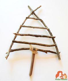 Christmas Themed Nature Craft