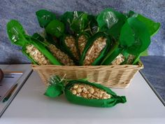 corn party favors | Indian birthday party favor, pop corn!