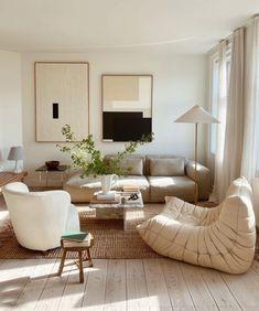 Design Living Room, Home Living Room, Apartment Living, Living Room Decor, Danish Apartment, Modern Apartment Decor, Apartment Interior, Casa Hygge, Style Deco