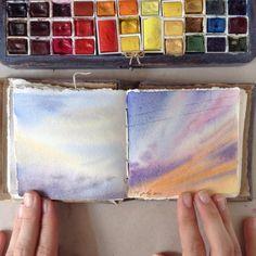 Artist's diary. limkina.etsy.com