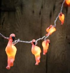 10 Ct. Pink Flamingo Electric Party Lights - Lighting - Christmas Lights - Christmas and Winter - Holiday Crafts