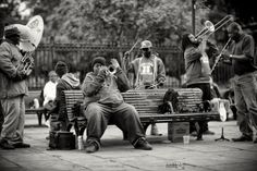 Jackson Square Brass Band #nola #frenchQuarter #NewOrleans #Photography