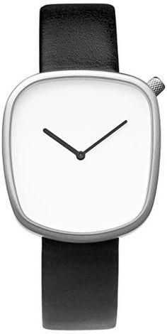 Bulbul Pebble P02 - Mouvement Cristal de roche Montre Minimal Minimalistic Watch