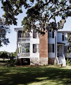 southern double porches