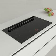 Aspira Integra - Integrovaná digestoř do indukční varné desky