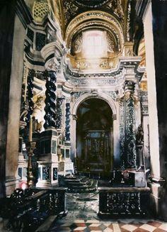 La beauté du detail à l'intérieur de Gesuiti, Venise