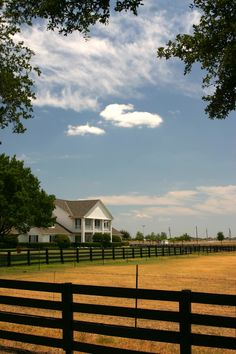 A Texas ranch.