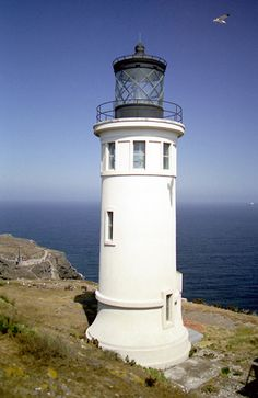 Anacapa Island Lighthouse.