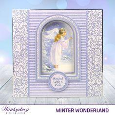 Winter Wonderland - Hunkydory   Hunkydory Crafts Christmas Snowman, Christmas Time, Hunkydory Crafts, Handmade Birthday Cards, Christmas Inspiration, Winter Wonderland, Cardmaking, Christmas Cards, Projects To Try