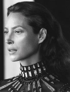 Valentino, Christy Turlington Burns, Harlem New York, November 2016 David Sims captures cturlington in a timeless portrait for Pierpaolo Piccioli David Sims, Christy Turlington, Runway Models, Valentino 2017, Editorial Photography, Fashion Photography, Photography Magazine, Portrait Photography, Harlem New York