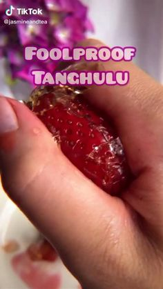 Fun Baking Recipes, Cooking Recipes, Cute Food, Yummy Food, Sweets Recipe, Japanese Sweets, Strawberry Recipes, Aesthetic Food, Diy Food