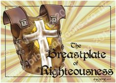 Ephesians 06 - Armour of God - Breastplate of Righteousness (Yellow)
