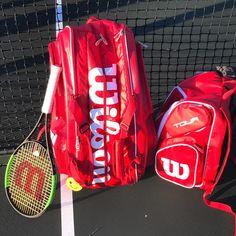 Wilson set - Wilson Blade, Tour bag and backpack Tennis Bags, Tennis Clubs, Tennis Racket, Golf Bags, Play Tennis, Blade, Backpacks, Sports, Fashion