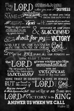 psalm 20 - Google Search