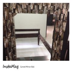 Carved #Mirror -Bali