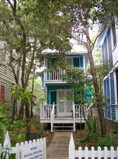 """Seaside, Florida Panhandle. This looks like a cute house for you in """"that"""" neighborhood."""