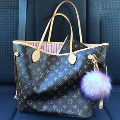 Rose Ballerine Louis Vuitton  Neverfull, size MM #purse #fashion #new