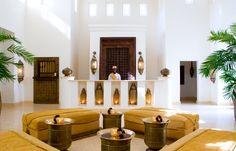 Baraza Resort and Spa Zanzibar Hotel Reception, Reception Design, Zanzibar Hotels, Morocco Hotel, Moroccan Interiors, Project, Hotel Lobby, Lobby Bar, Mediterranean Homes