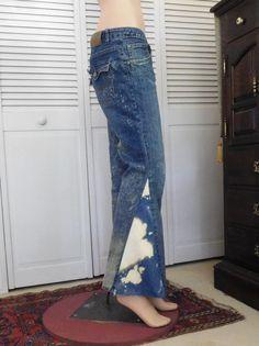 Levis Jeans Bell Bottom Jeans Bellbottoms by LandofBridget on Etsy