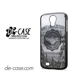 The Amity Affliction Brothers In Arms DEAL-10615 Samsung Phonecase Cover For Samsung Galaxy S4 / S4 Mini
