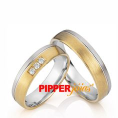 Alianças de Casamento em Ouro 18k e Prata - ALM503 Love Bracelets, Cartier Love Bracelet, Bangles, Mayo, Look, Wedding Rings, Engagement Rings, Jewels, Gold Wedding Rings