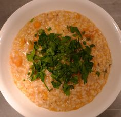 Easy Risotto with Winter Squash - Healthy and Vegetarian