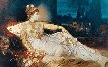 "Charlotte Wolter als ""Messalina"" (um 1875)"