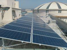 Waaree Energies installs solar rooftop panels at Growel's101 Mall