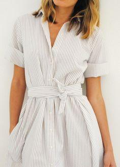 Pretty shirtdress