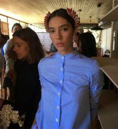 La noche, el desamor y el rock: La moda y la belleza de Julieta Cardinali para Clara Ibarguren | Bloc de Moda: Noticias de moda, fashion y belleza Primavera Verano 2015