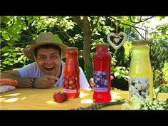 3 natural homemade syrups from your garden - lavender, strawberry, elder. Homemade Syrup, Make Your Own, Make It Yourself, Lavender Garden, Czech Recipes, Elderflower, Youtube, Czech Food, Strawberry