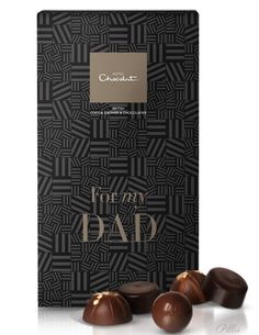 Father's Day Chocolate By Hotel Chocolat. Wish I had my dad close enough to give him these any day of the year. !