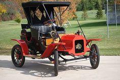 1908 REO Model B Runabout - (REO Motor Car Company, Lansing, Michigan 1905-1936)