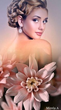 Beauty In Art, Beauty Shoot, Beautiful People, Beautiful Pictures, Pin Up, Dream Images, Rose Candle, Girls With Flowers, Pretty Females