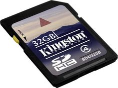 Memoria SD 32GB secure digital Kingston SD4/32GB #iphone #blogtecnologia #tecnologia
