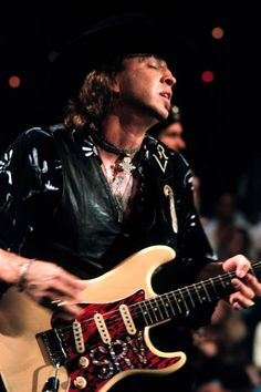 Stevie Ray Vaughan plays Leave My Girl Alone on Live from Austin, Texas.