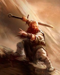 Kungfu Dwarf, Matt Forsyth on ArtStation at https://www.artstation.com/artwork/wE4mL