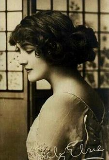 Edwardian era hair