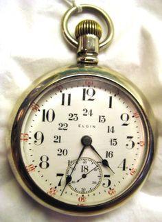 Elgin Pocket Watch c.1909