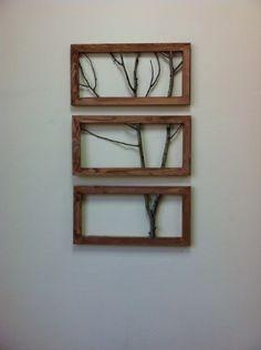 Рамка, дерево, декор Wood nasha-lavka