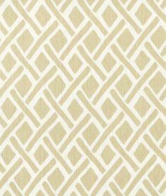 Portfolio Treads Sand Fabric - $31.15 | onlinefabricstore.net