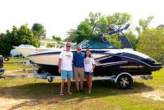 Congrats to David and Paula on their new Chaparral 203 Vortex VRX!