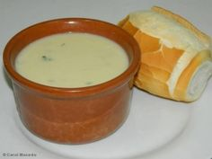 Receita Sopa creme de cebola