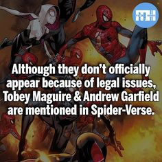 Tobey Maguire and Andrew Garfield
