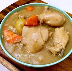 """If you've read Munch Ministry's interview with me on Homecooks Spotlight, you'll know that I grew up eating """"a creamy chicken stew cooked using roux, red onions, potatoes an…"""