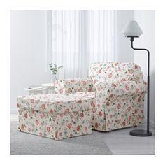 IKEA - ЭКТОРП, Кресло, Нордвалла красный, Нордвалла красный, , Подушки сиденья с наполнителем из высокоэластичного пенополиуретана и ваты из полиэстерного волокна; обеспечивают оптимальный комфорт и легко восстанавливают первоначальную форму, когда вы встаете.Двусторонние подушки спинки с наполнителем из полиэстерного волокна обеспечивают мягкую опору для спины.Съемный чехол легко содержать в чистоте, так как его можно стирать в машине.Благодаря широкому выбору чехлов легко придать…