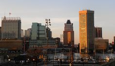 I worked downtown from for the U. Army Corps of Engineers in the federal building. Baltimore Skyline, Baltimore Maryland, Seattle Skyline, Army Corps Of Engineers, Beautiful Space, Vacation Destinations, San Francisco Skyline, Spaces, History