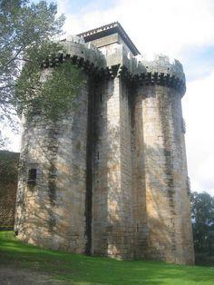 Castillo de Granadilla. (Cáceres). Spain.